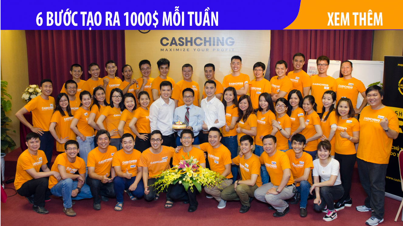 lớp CASHCHING - nhà đầu tư chuyên nghiệp