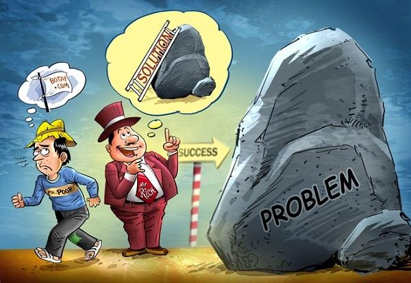 Tư duy giữa người giàu và người nghèo